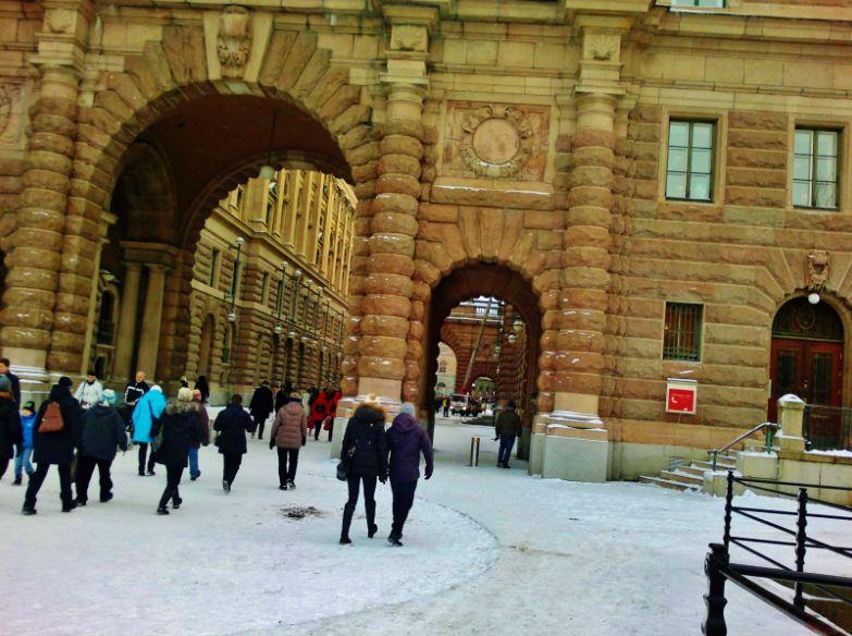 صورة للبرلمان من الخارج
